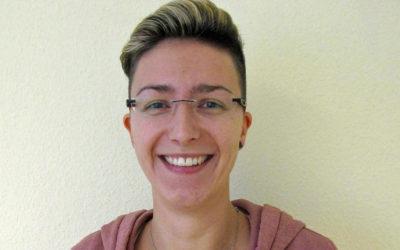 Verstärkung im Kompetenzzentrum: Franziska Boddin