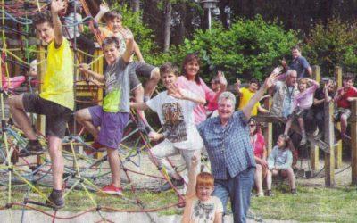 """SVZ vom 13./14. Juli """"Schweriner Kinder erleben Ferienspaß in Dümmer"""""""