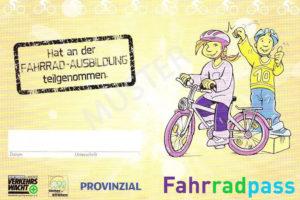 Fahrradpass Verkehrswacht